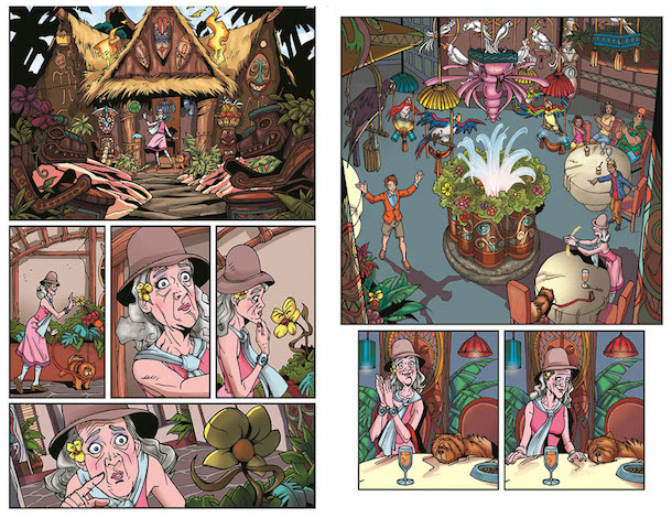 Enchanted Tiki Room comic book