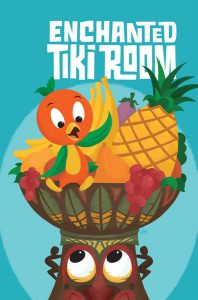 enchanted tiki room comic book series