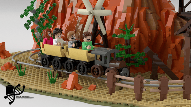 Big Thunder Mountain LEGO set