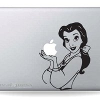 Disney Beauty and the Beast Belle MacBook Decal