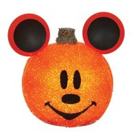 Disney Mickey Mouse Sparkling Pumpkin