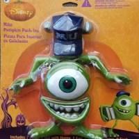 Disney Monsters INC Mike Wazowski Halloween Decoration Pumpkin Push-in
