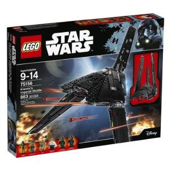 star wars rogue one otys LEGO STAR WARS Krennic's Imperial Shuttle 75156