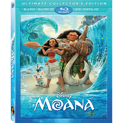 moana dvd blu ray
