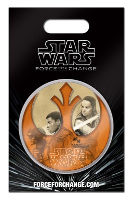 star wars- the last jedi pin