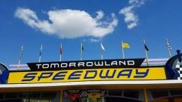 tron roller coaster disney world tomorrowland speedway