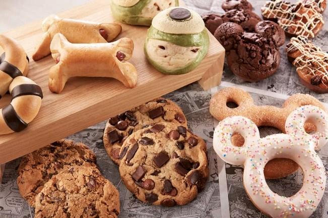 mickey-shaped donut
