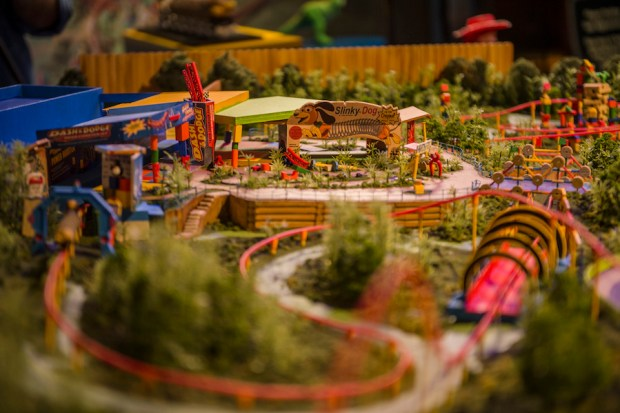 toy story land model hollywood studios