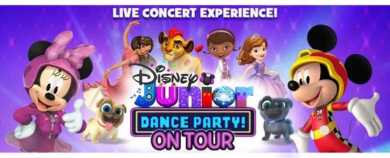 Disney Junior Dance Party! On Tour