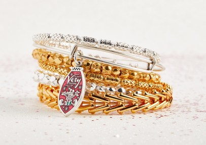 Mickey's Very Merry Christmas Party Bangle alex and ani