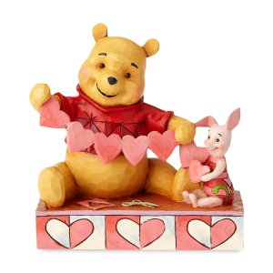 Winne the Pooh and Piglet ''Handmade Valentine'' Figure