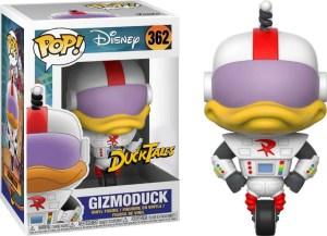 gizmoduck funko pop figure ducktales