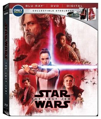 Star Wars: The Last Jedi Blu-Ray