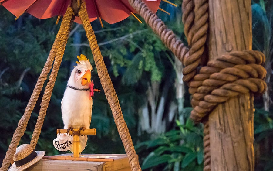 tropical hideaway disneyland rosita tiki room