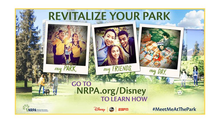 Disney Launches National Recreation and Park Association Grant Program