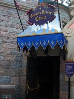 Sleeping Beauty Castle Walkthrough (Disneyland)