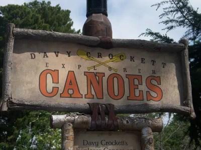 Davy Crockett's Explorer Canoes (Disneyland)