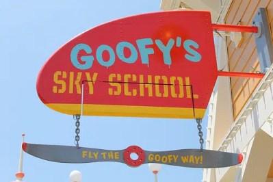 Goofy's Sky School (Disneyland)