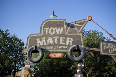 Maters Junkyard Jamboree (Disney California Adventure)