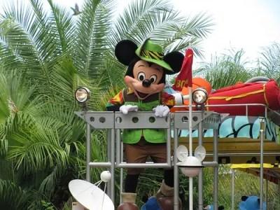 Mickey's Jammin Jungle Parade   Extinct Disney World
