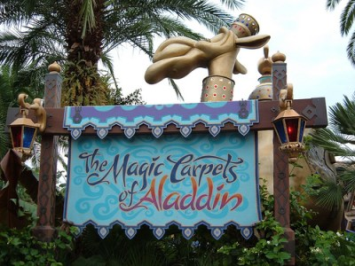 The Magic Carpets of Aladdin (Disney World)