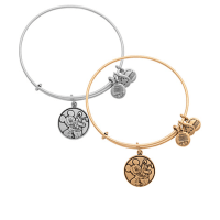 Mickey Mouse and Pluto Bangle by Alex and Ani   Disney Jewelry