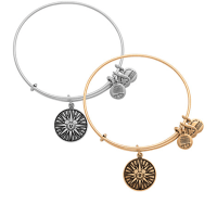 Mickey's Fun Wheel Bangle by Alex and Ani | Disney Jewelry