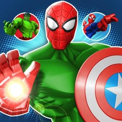 Mix+Smash: Marvel Super Hero Mashers