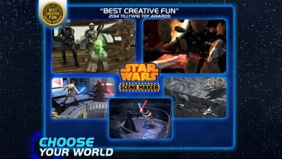 Star Wars Scene Maker Mobile Game