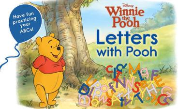 Letters with Pooh Mobile App