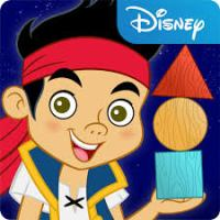 Jake's Never Land Shapes and Patterns Mobile App