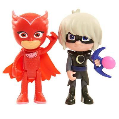 PJ Masks Duet Figure Set – Owlette and Luna Girl