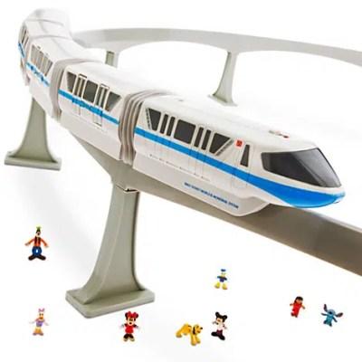 Walt Disney World Monorail Toy Playset (with 8 minifigures)