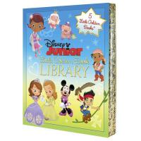 Disney Junior Little Golden Books Library Set