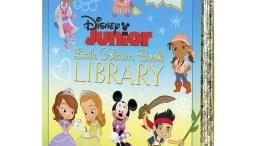 Disney Junior Little Golden Books Library Set