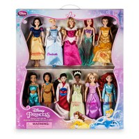 Disney Princess Classic Doll Collection Gift Set