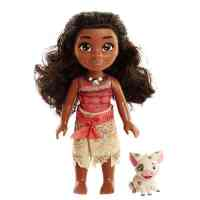 Disney Petite Adventure Moana and Pua Doll
