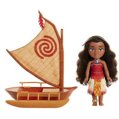 Disney Moana and Canoe Ocean Adventure Doll Set