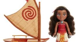 Disney Moana and Canoe Ocean Adventure Doll Set