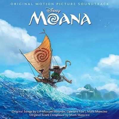 Disney's Moana CD Soundtrack