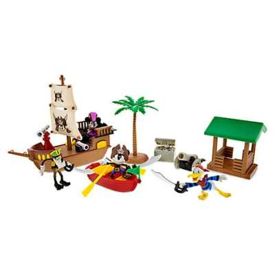 Mickey Mouse and Friends Pirates of the Caribbean Playset