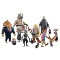 Zootopia Action Figure Set (14-piece set)