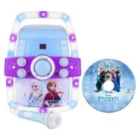 Disney Frozen Karaoke - Flashing Light-Up Multicolor