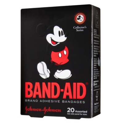 Mickey Mouse Band-Aid Adhesive Bandages (Collector's Series)