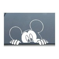 Mickey Mouse Car Window Decal Sticker
