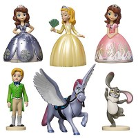 Sofia the First Action Figure Playset (6-pc)