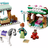Disney Frozen Anna's Snow Adventure LEGO Set
