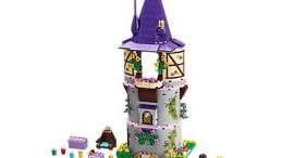 Disney Tangled Rapunzel's Creativity Tower LEGO Set