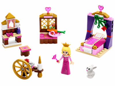 Disney Sleeping Beauty's Royal Bedroom LEGO Set