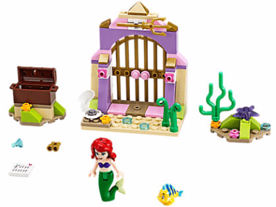Disney The Little Mermaid Ariel's Amazing Treasures LEGO Set